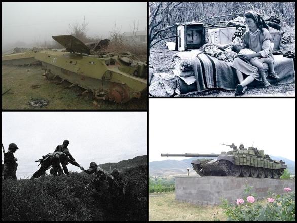 Foto: Válka o Náhorní Karabach byl ozbrojený konflikt trvající mezi únorem 1988 a květnem 1994. Válka si vyžádala minimálně přes 30 000 lidských životů. / Nicholas Babaian, CC BY-SA 3.0