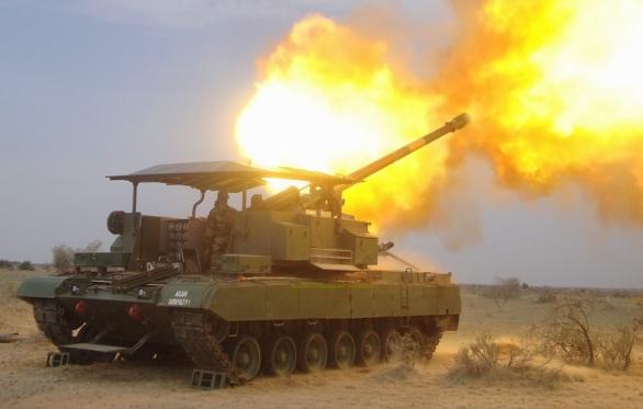 Foto: Catapult Mk.II během testů v pouštním prostředí. / DRDO