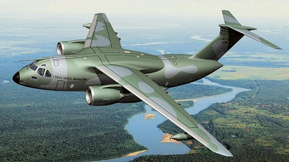 Foto: KC-390 / Embraer