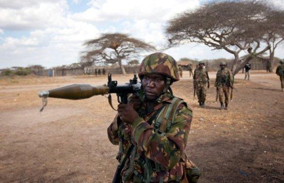Foto: Voják Keňské republiky; ilustrační foto  / Public Domain