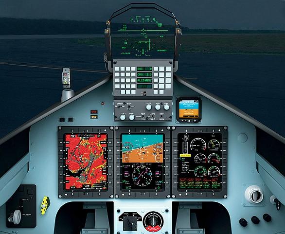 Foto: L-39NG získá moderní skleněný kokpit. / AERO Vodochody