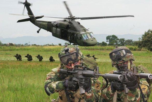 Foto: Kolumbijští vojáci; ilustrační foto / Mrnico1092