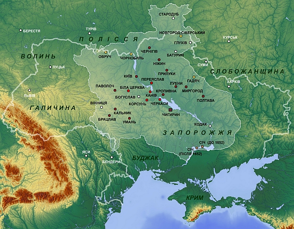 Kozácký Hetmanát 1649-1654