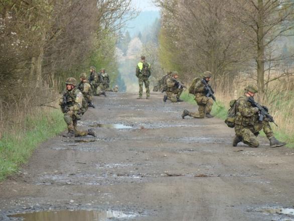 Foto: Chování patroly sledovali instruktoři. /