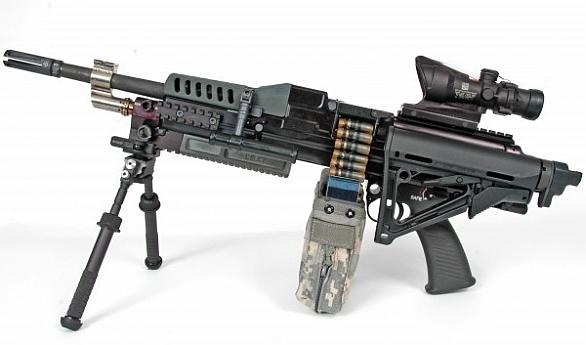 Foto: Poslední známa podoba kulometu LSAT (2013) / U.S. Army