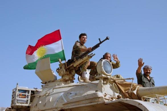 Foto: Kurdské jednotky postupují na Mosul (říjen 2016). / Michal Voska