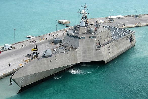 Foto: První loď stejnojmenné třídy - USS Independence. / US Navy