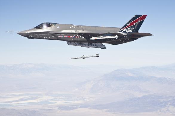 F-35 AIM-120 AMRAAM