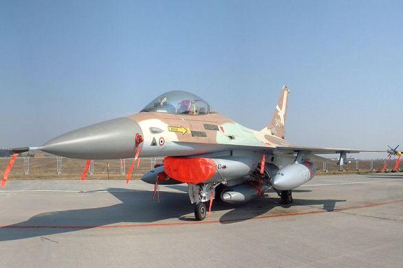 izraelské F-16