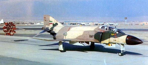íránský F-4D Phantom