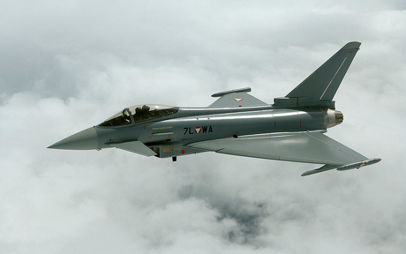 Rakouský Eurofighter