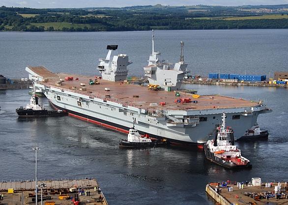 ¨letadlová loď HMS Queen Elizabeth