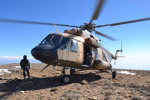 Afghánský vrtulník