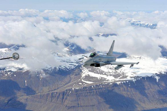 Eurofighter tankování