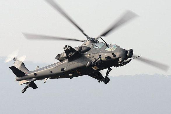 čínský bitevní vrtulník WZ-10