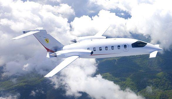 dopravní letadlo P180 Avanti II od firmy Piaggio