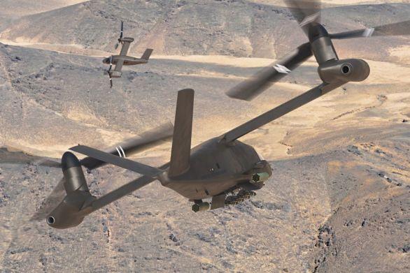 Foto: Konvertoplán V-280 Valor bude sloužit především k dopravě vojáků, nákladu ale i k vzdušné podpoře / Bell Helicopter