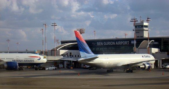Ben Gurionovo letiště, Tel Aviv. Zdroj fotografie: Flickr.