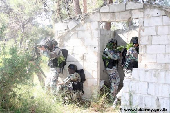 Foto: Výcvik libanonské armády. / Lebanese Armed Forces