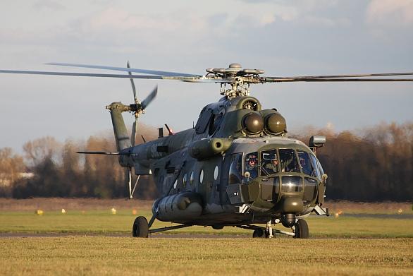 Foto: Modernizovaný vrtulník Mi-171š pro potřeby Armády ČR. / LOM Praha