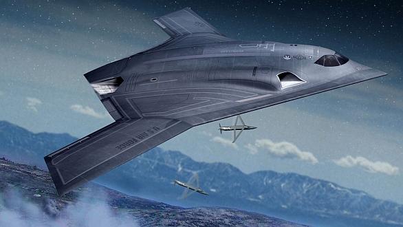 """Foto: Northtop Grumman pracuje na novém lehkém bombardéru LRS-B (Long Range Strike-Bomber ). Může se """"slít"""" projekt LRS-B s programy stíhacích letadel 6. generace? /  Northtop Grumman"""