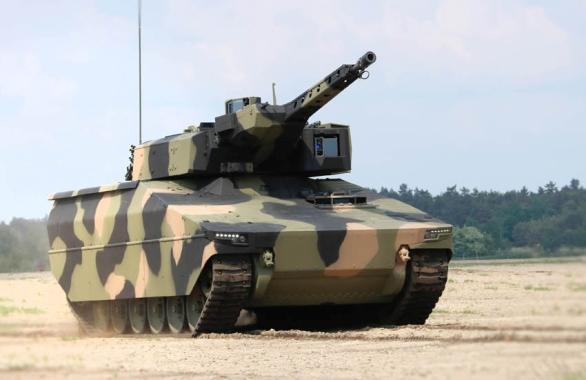 Foto: Nové německé bojové vozidlo pěchoty Lynx. / Rheinmetall