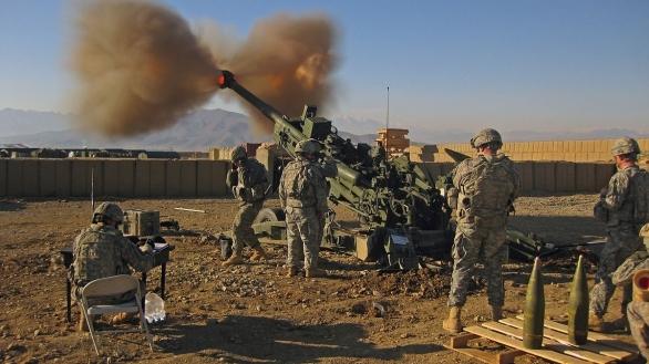 Ftoo: M777 americké armády v Afghánistánu . / Public Domain