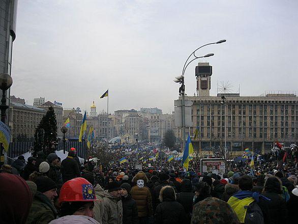 Euromajdan Kyjev