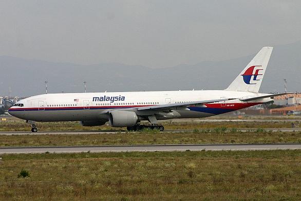 Sestřelené letadlo Malajských aerolinií. / Alan Wilson,  Attribution-Share Alike 2.0 Generic