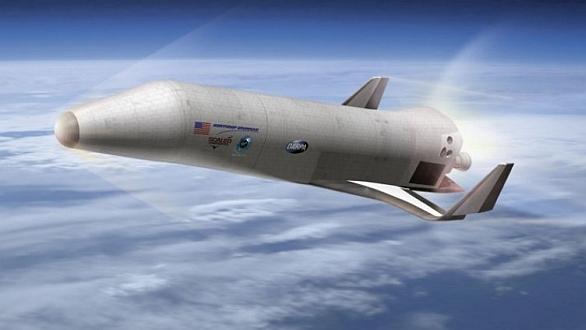 Foto: Představa raketoplánu XS-1 od firmy Northrop Grumman; větší foto / Northrop Grumman
