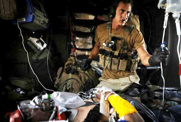 zraněný voják