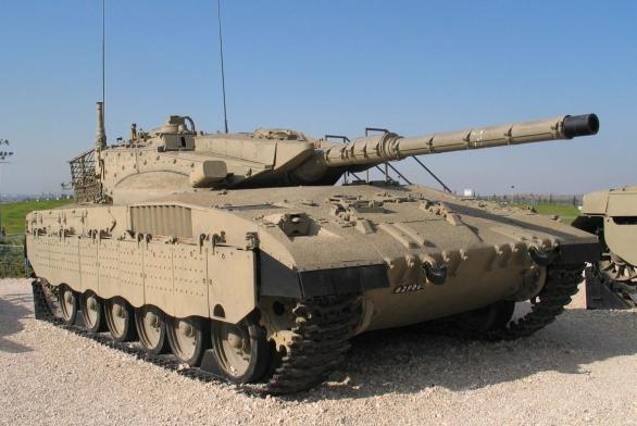 Foto: Tank Merkava Mk2 / Bukvoed, CC BY 2.5