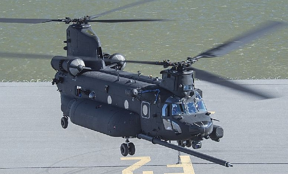 Foto: Nově pootavený MH-47G Chinook. / Boeing