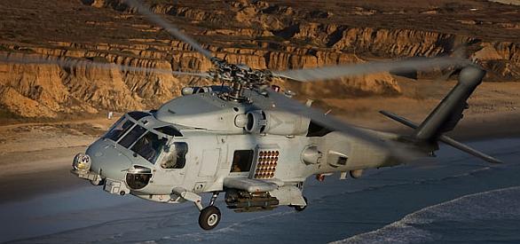 """Foto: Polsko má zájem i o vrtulníky pro protiponorkový boj. Námořní MH-60 """"Romeo"""" dokáže bojovat jak s ponorkami, tak s hladinovými cíli protivníka. / Sikorsky"""