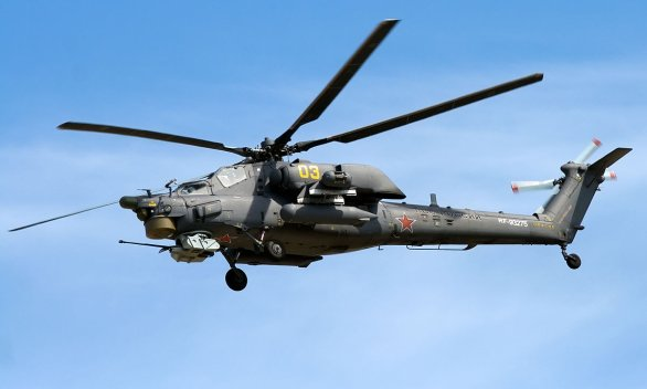 """Foto: Mi-28 """"Noční lovec""""; větší foto / Artem Katranzhi; CC BY-SA 2.0"""