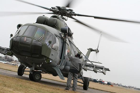 Rotor vrtulníku Mi-17