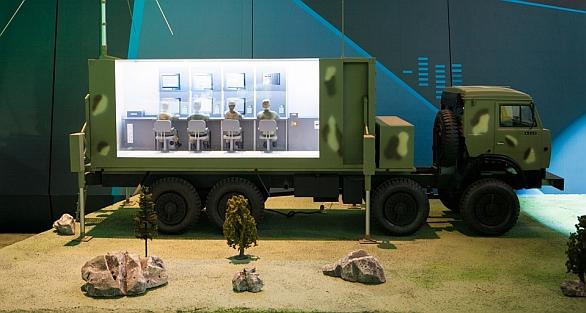 Foto: Pasivní radarový systém Moskva-1. / KRET