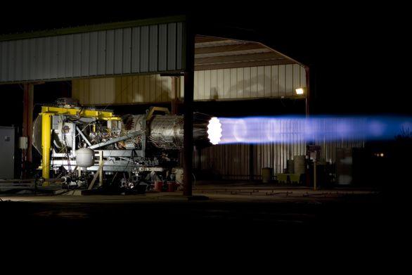 Foto: Test současných motorů F-135 stíhačky F-35 Lightning II; ilustrační foto; větší foto / Pratt & Whitney