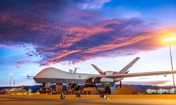 Foto: Bezpilotní letoun MQ-9 Reaper; ilustrační foto, větší foto; / USAF