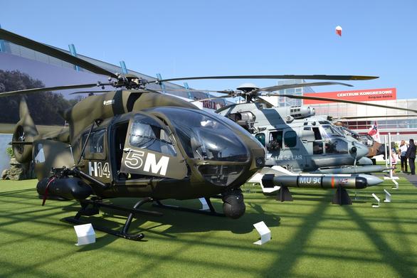 Foto: Airbus Helicopters Tiger (Eurocopter Tiger) je jedním z hlavních uchazečů na nový polský bitevní vrtulník; větší foto / Autor