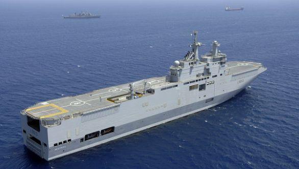 francouzská loď Mistral