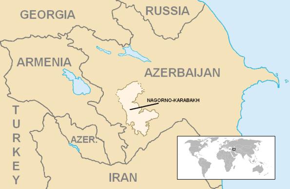 Foto: Náhorní Karabach / Public Domain