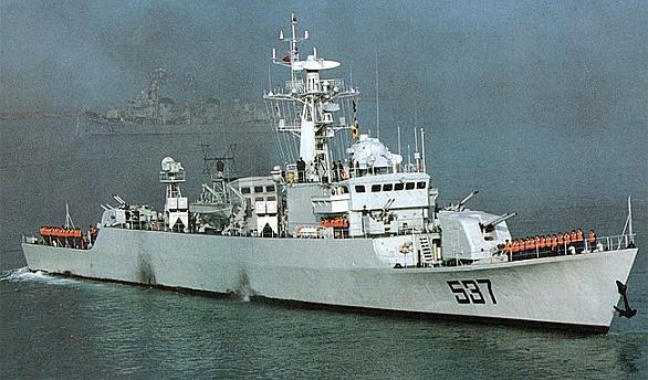 Čínské plavidlo třídy Type 053H2