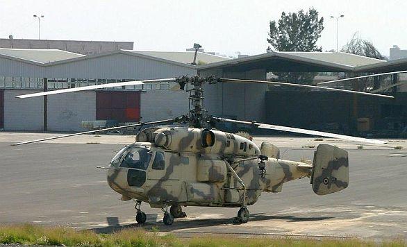 Foto: Jemenský námořní vrtulník Ka-28 / militaryphotos.net
