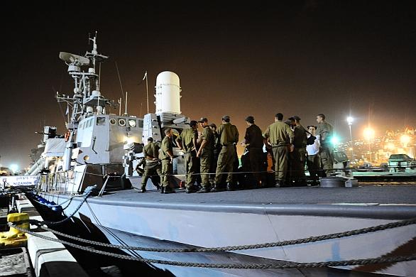 Izraelské raketové čluny Sa'ar 4