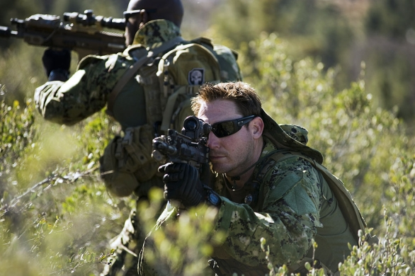 Foto: Členové Navy SEAL; ilustrační foto / Public Domain