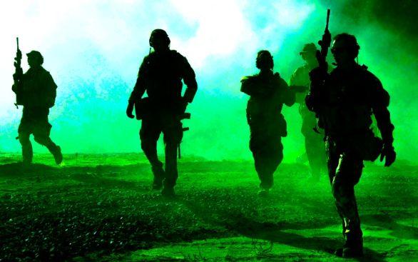Foto: Členové Navy SEAL při výcviku; ilustrační foto / Public domain