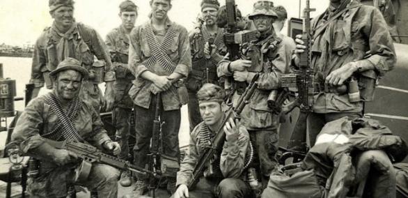 Navy SEALs ve Vietnamu (zdroj: Navyseals.com).