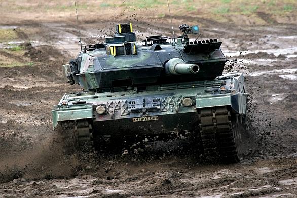 Foto: Německý tank Leopard; větší foto / Bundeswehr