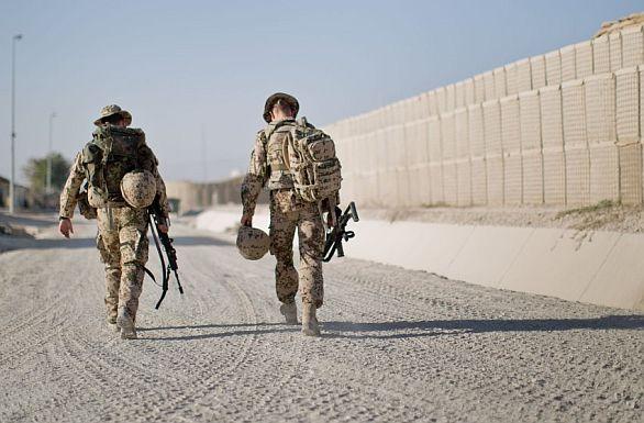Foto: Německá armáda v Afghánistánu; ilustrační foto / Bundeswehr